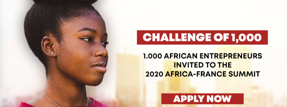 Africans entrepreneurs : take part in Challenge of 1,000 at the (...)