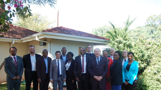 Economic workshop at the Residence of France